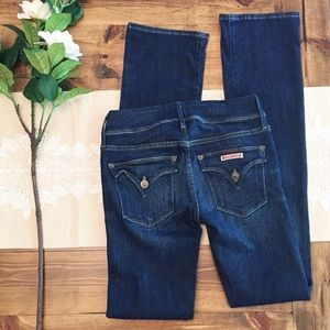 Hudson Beth Baby Boot Jeans 25 Long Inseam